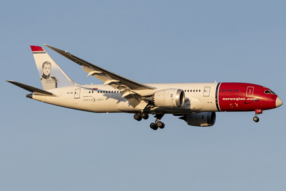 Norske Boeing 787-8 Dreamliner LN-LND