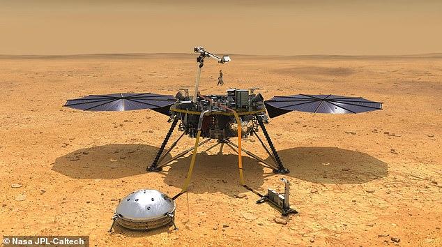 El módulo de aterrizaje InSight de la NASA llegó a Marte en 2018, pero su sonda 'Mole' ha tenido dificultades para perforar debajo de la superficie.