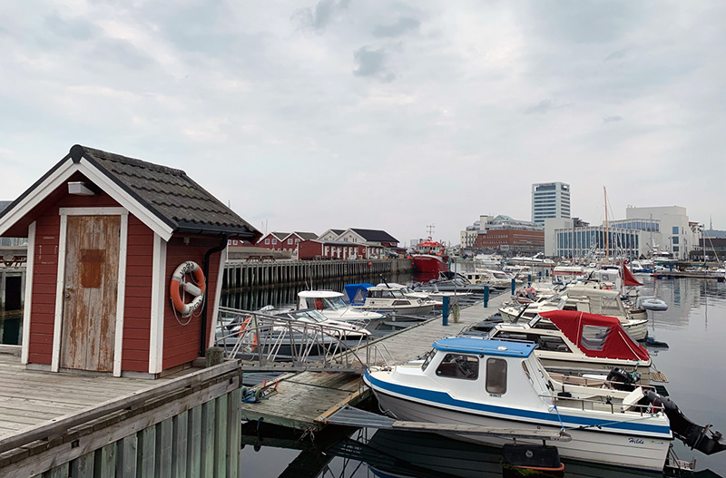 Waterfront of Bodo, Norge